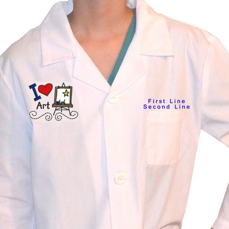 Personalized Kids Artist Smock
