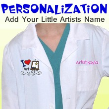 Personalized Artist Smocks for Kids