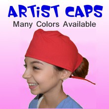 Childrens Artist Caps